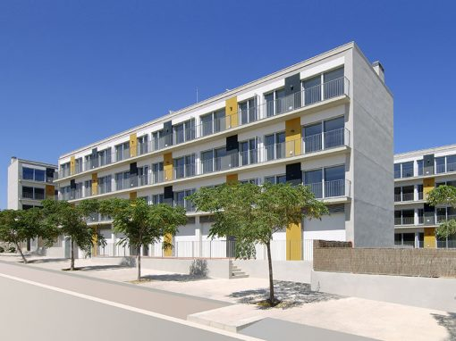 Development of 118 affordable homes in Sitges